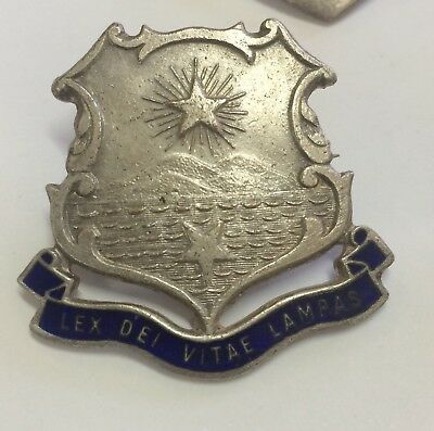 Australia Early School Badge Stokes Melbourne