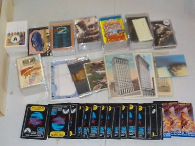 Huge 1600 Ct. Box of Mostly Non Sports Cards w/ Unopened Packs, Sets, Trek R66
