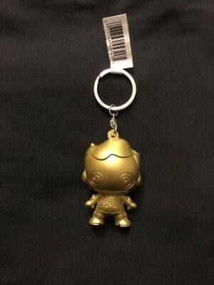 Figural Keychain DC COMICS Series 2 - Exclusive GOLD AQUAMAN Chase RARE