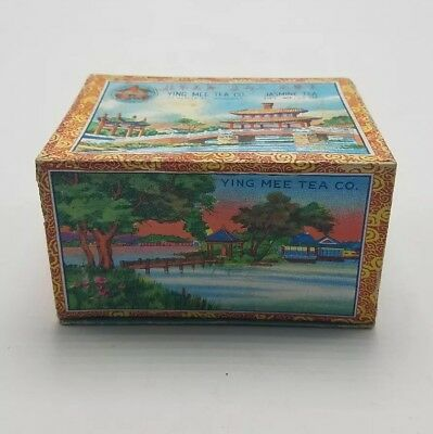 Vintage Ying Mee Tea Co.(Jasmine Tea) Chinese Tea Box Caddy