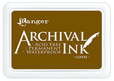 Archival Ink Stamp Pad Coffee