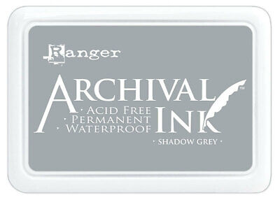 Archival Ink Stamp Pad Shadow Grey