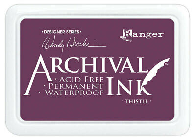 Archival Ink Stamp Pad Thistle