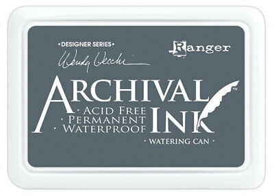Archival Ink Stamp Pad Watering Can