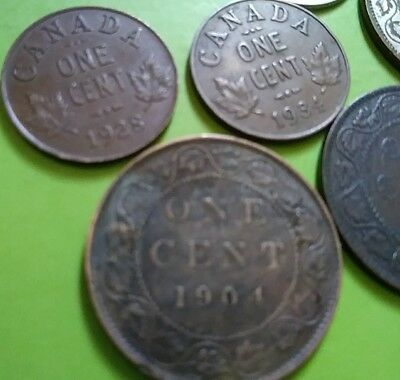 Canadian Mixed Coin Lot of 7