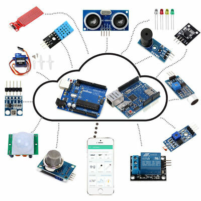 IoT Starter Kit for Arduino IoT Project Android/iOS Remote Control with Tutorial