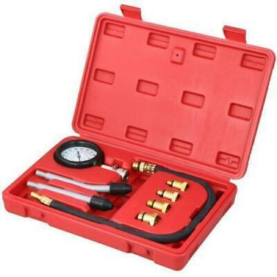 Spark Plug Cylinder Compression Tester Test Kit Measuring Tool Portable Durable