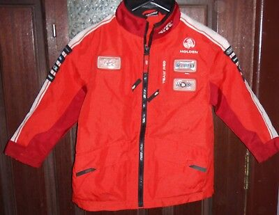 Holden Racing Team Polyester Jacket Size 8