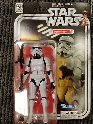 "Star Wars Black Series 40th Anniversary 6"" Scale Stormtrooper"