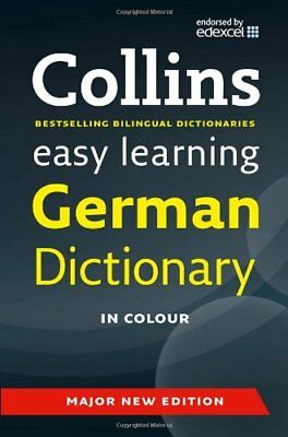 Easy Learning German Dictionary (Collins Easy Learning German) ..9780007530953