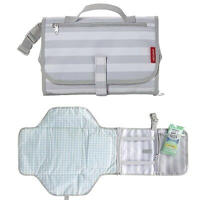 Baby Diaper Changing Pad Portable Travel Diaper Clutch Changing Station Changer