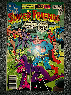 The Super Friends (DC Comics) #31 dated April 1980