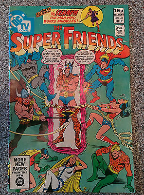 The Super Friends (DC Comics) #46  dated July 1981