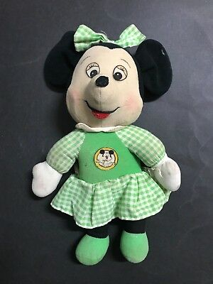 Minnie Mouse Vintage Knikerbocker Soft Toy