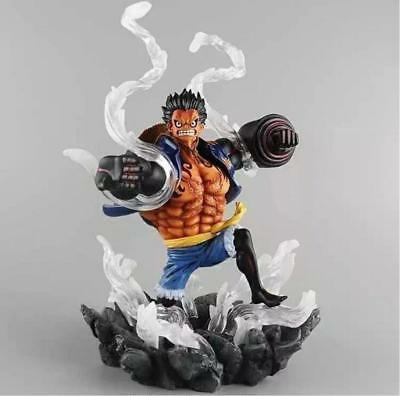 One Piece Exellent Model Pirate: Monkey D Luffy Gear4 Strong World Action Figure