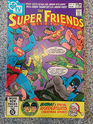 The Super Friends (DC Comics) #42  dated March 1981