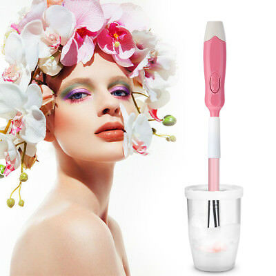 Makeup Brush Cleaner Electric Spinning Makeup Brush Cleaner+Dryer Machine