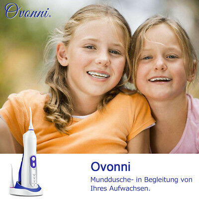 Ovonni Updated Version Oral Irrigator Water Flosser + High Capacity Water Tank