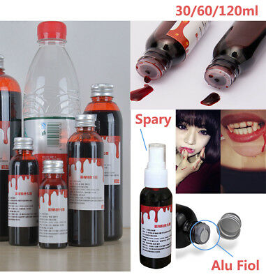 Mouth Safe Fake Blood Halloween Party Horror Stage Fancy Dress Theatrical Makeup