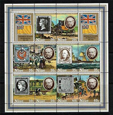 Niue 1979 Rowland Hill MS SG294 MNH