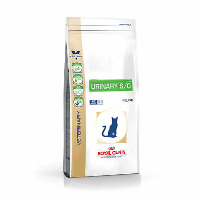 Croquettes Royal Canin Veterinary Diet Urinary S/O pour chats Boeuf 12 Sachets d