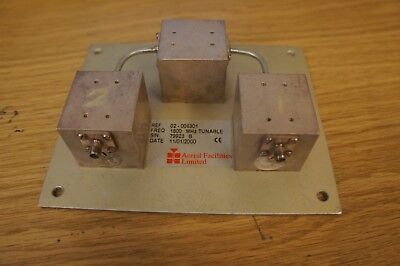 Aerial Facilities Limited Tunable 1800 MHz Filter - LOC EQ-31-11