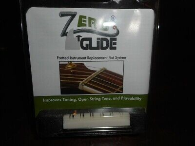 NEW Gold Tone Zero Glide Replacement Slotted Nut For 12-String Guitars - ZS-20