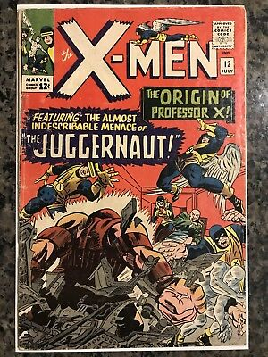 X-Men #12 (Jul 1965, Marvel) 4.0?- 1st JUGGERNAUT Appearance
