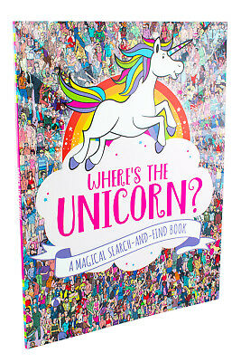 Where's The Unicorn: a Magical Search-and-Find Book