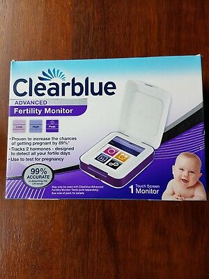 Clearblue Advanced Fertility Monitor. Unused sealed box.