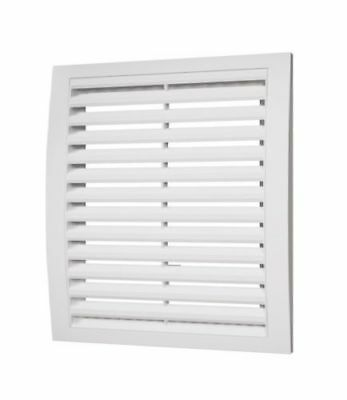 White Air Vent Grille Wall Ceiling Plastic Ducting Ventilation Cover