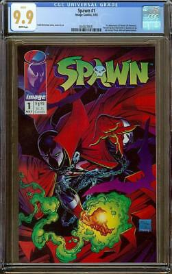 Spawn #1 CGC 9.9 White Pages (not 9.8) 1st Appearance of Spawn (Al Simmons)