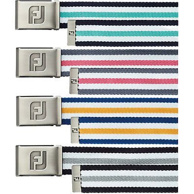 FootJoy Mens Canvas Webbing Golf Belt