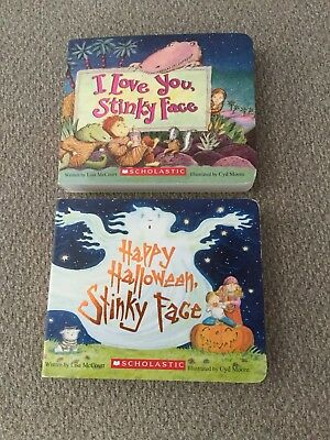 I Love You Stinky Face, Scholastic Books set of two