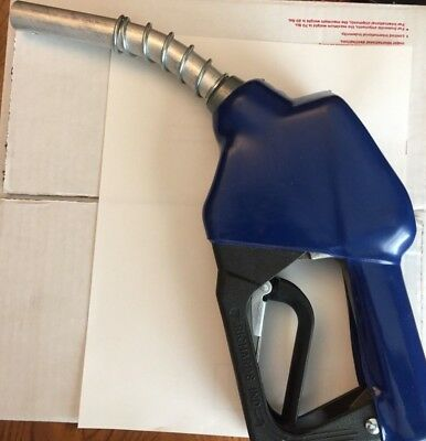 Richards Ind. Gas Pump Nozzle, Unleaded Fuel, Electric Pump Handle, Auto Shutoff