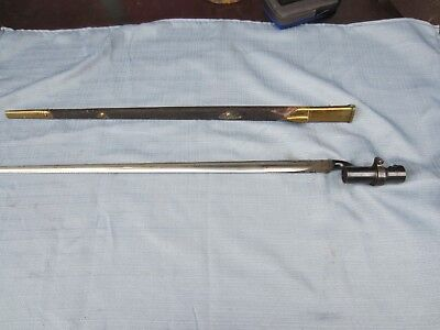 Martini Henry Pattern 1876 British Bayonet