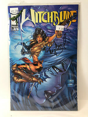 Witchblade #9  Edition Signed By Artist Tony Daniel