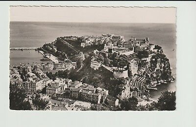 Monaco Stamps Picture Postcard 1956 View Rare Postal History Collection