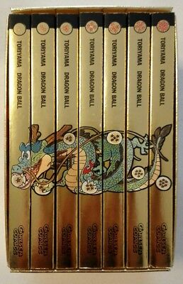 Dragonball 1-7 Limited Gold Edition