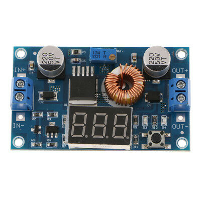 5A 75W DC-DC Adjustable Step Down Buck Converter Module With LED Display