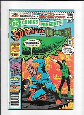 Dc Comics Presents #26 ==> Vf- 1St Appearance Of The New Teen Titans 1980