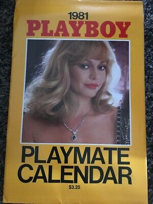 Playboy Magazine Wall Calendar 1981 Sealed In Original Sleeve Collectible