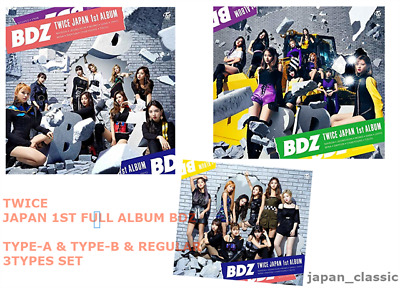 TWICE JAPAN 1ST Full Album [BDZ] Type A (CD + DVD) Limited