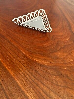 Tiffany & Co. Triangular Pin Tray with Reticulated Sides No Monogram 1912/1913