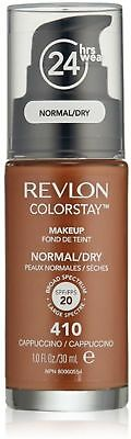 Revlon ColorStay Makeup For Normal/Dry Skin, Cappuccino 1 oz (Pack of 9)