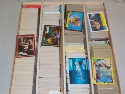 Huge 3200 Ct. Box of Non Sports Cards w/ Star Trek, TMNT Turtles, Nice! P49