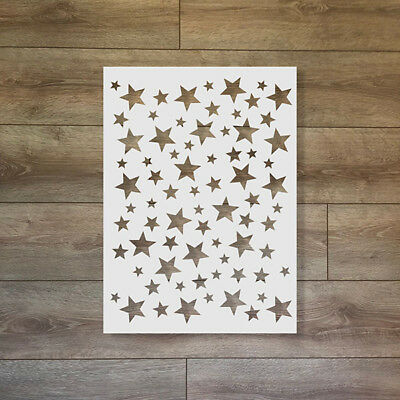 Stars - Christmas / Winter Reusable Plastic Stencil