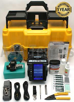 Fujikura 19S SM MM Fixed V-Groove Fiber Fusion Splicer w/ CT-06 Cleaver FSM-19S