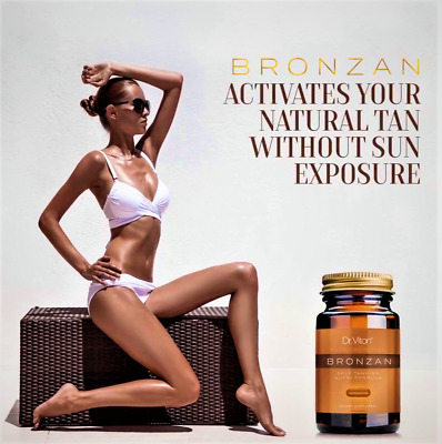 BRONZAN--Capsules For Sunless Tanning (Nutritive Formula) - SUMMER ON YOUR SKIN