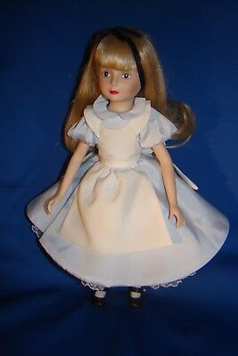 "Alice In Wonderland Porcelain 13"" Doll - The Disney Collection 1988!"